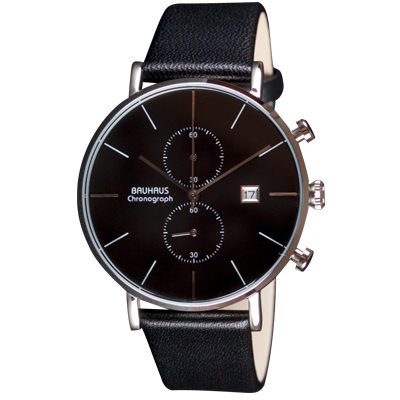 Bauhaus watch Chronograph black