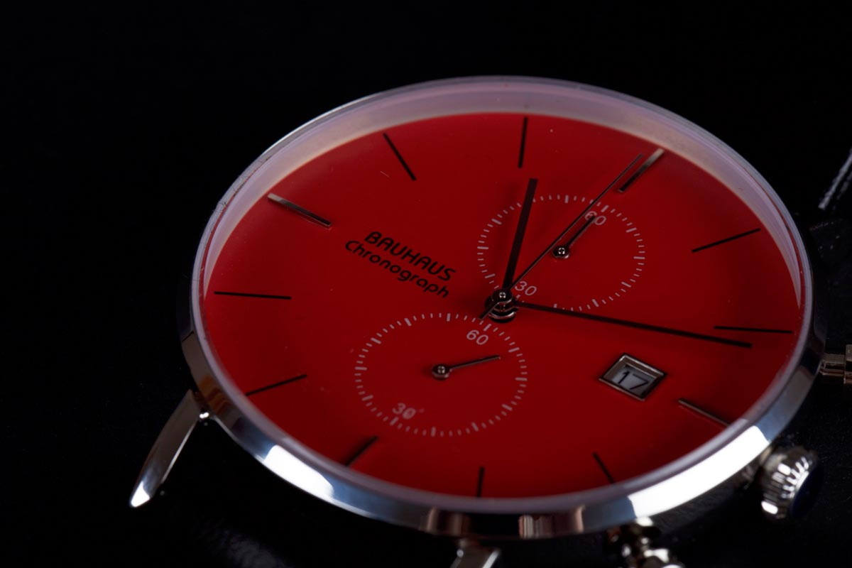 CHRONOGRAPH red