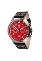 B-UHR LUFTWAFFE flieger chronograph, RED, limited edition