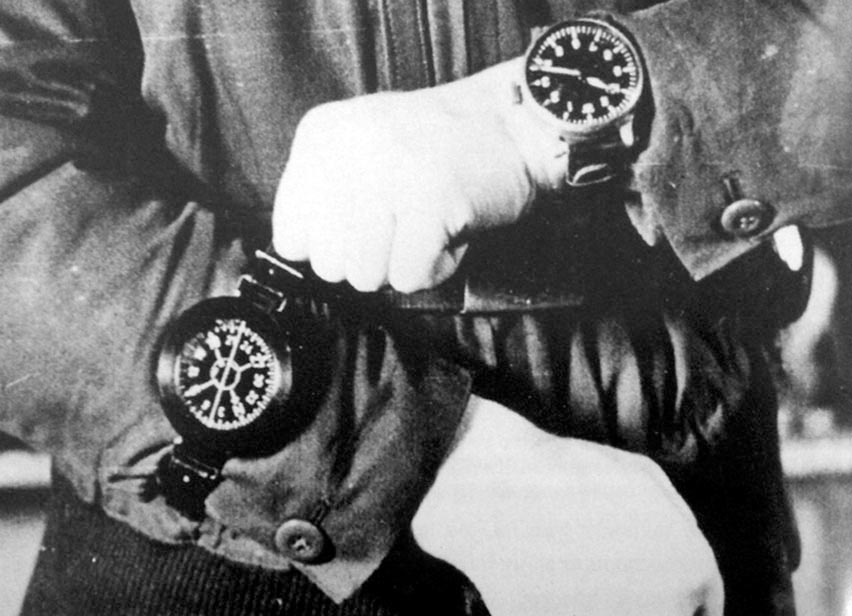 GERMAN MILITARY TIMEPIECES of WORLD WAR II